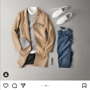 Men's Coat Reiss size XL camel colour